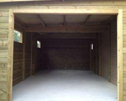 Garin Pierre  - LESTREM - Garage en Bois